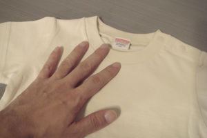 小さいお子様用のJr.Tシャツイメージ