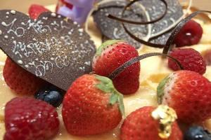 【本日のあまいモノ】バースデーケーキイメージ