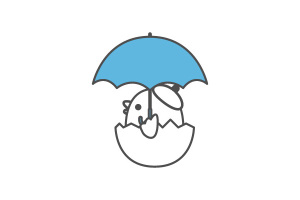 梅雨入りにゅっと。イメージ
