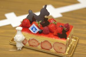 【本日のあまいモノ】ゆめのかイチゴのケーキ!イメージ