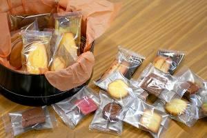 【本日のあまいモノ】オーナーさんからの頂き物、焼き菓子 !イメージ