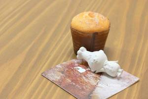 【本日のおいしいモノ】秋の味覚!栗カップケーキ!イメージ