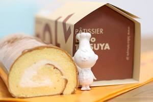 【本日のあまいモノ】ふんわり軽やかなロールケーキ!イメージ