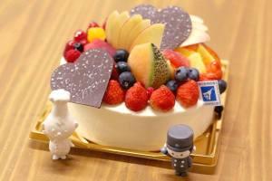 【本日のあまいモノ】バースデーケーキ!イメージ