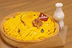 【本日のおいしいモノ】秋の味覚!かぼちゃチーズケーキ!イメージ