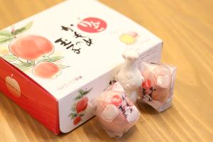 【本日のあまいモノ】 爽やかなりんご風味のかもめの玉子イメージ