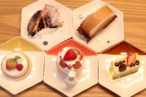 【本日のあまいモノ】 見た目も楽しいケーキ!イメージ