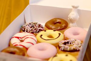 【本日のあまいモノ】ふんわりあまーい!ドーナツ!イメージ