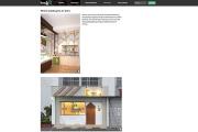 シンガポールのwebサイト、homifyに掲載されました!