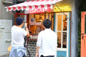 東京下北沢のコーヒースタンドショップと三軒茶屋のスニーカー専門店の撮影!イメージ
