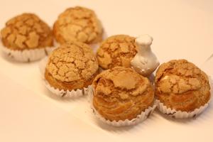 【本日のあまいモノ】ざっくりクッキー生地のシュークリーム!イメージ