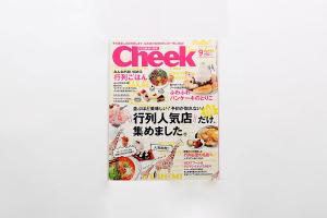 メディア掲載!月刊Cheek2013年9月号No.343イメージ