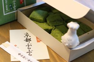 【本日のあまいモノ】あの京都の井筒八ッ橋本舗のわらび餅!イメージ
