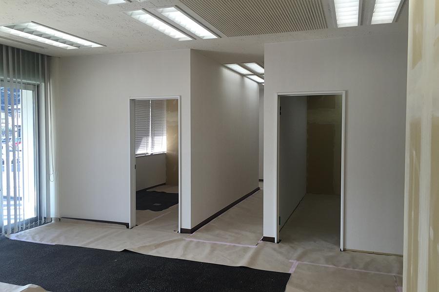 税理士事務所の内装工事