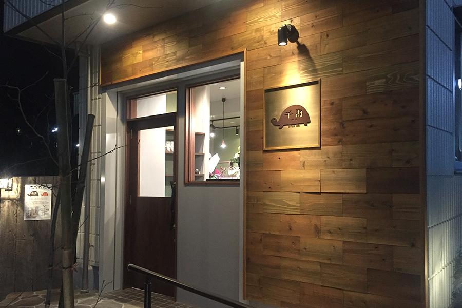 カフェの内装工事