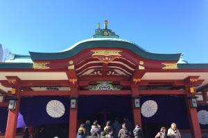 東京新年会、サル年の今年はパワースポット山王日枝神社からの神田明神イメージ