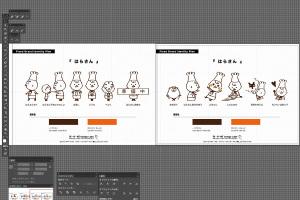 デザイン事務所がLINEスタンプをデザインするとかいう説イメージ