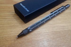 【日曜ユル書き】その03_三角スケール付きのボールペン〜設計の必須アイテム、サンスケイメージ
