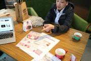 【進行中】名古屋市緑区のパティスリーエスさん1周年チラシ打ち合わせ_vol.01