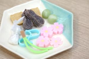 【本日のあまいモノ】季節に合わせたあまーい干菓子!イメージ