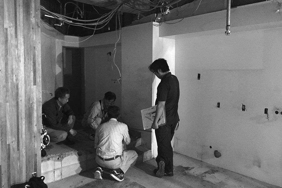 【進行中】工事打ち合わせ_金山ほしあかりプロジェクトメインイメージ