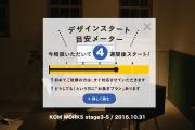 KOMのスケジュール予報 2016.10.31時点