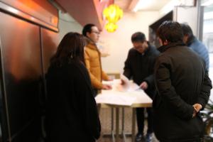今日はお店で打ち合わせ_愛知畜産プロジェクトvol.06イメージ
