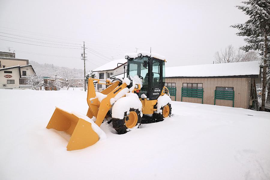 現地はすごい雪!工事確認してきました!_リゾートインヤマイチプロジェクトメインイメージ