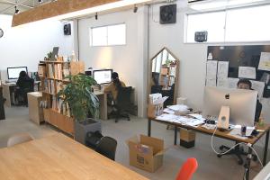 今日のKOMの事務所の様子イメージ