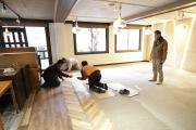 看板工事で、だいたいイメージ出来てきた!_リゾートインヤマイチプロジェクト