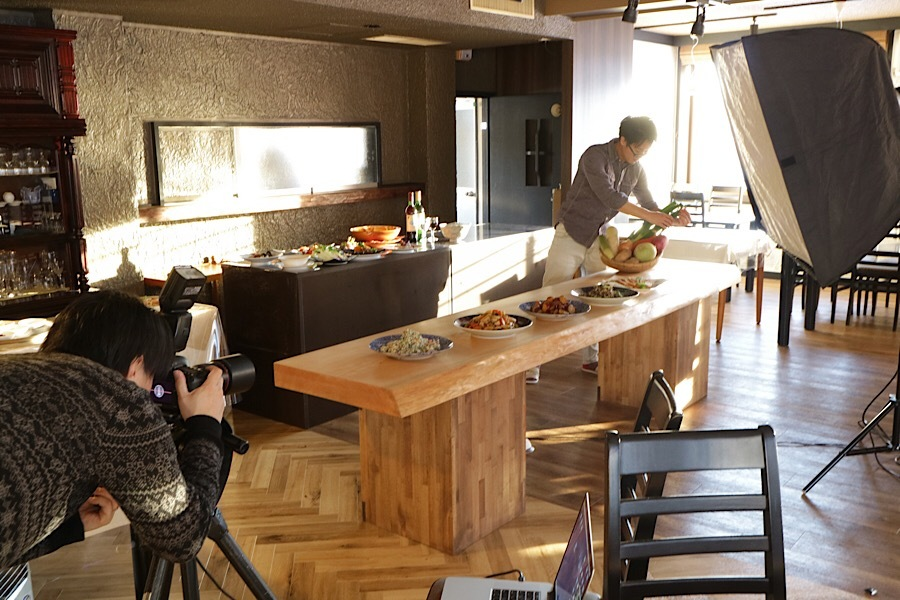 料理の撮影でした!_リゾートインヤマイチプロジェクトメインイメージ