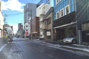 名古屋でも雪が降りました!イメージ
