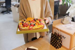 朝からケーキ!イメージ