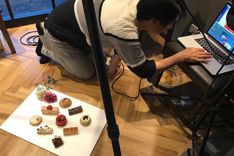松本氏の母の日のケーキ