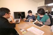 東京事務所で世界観プレゼン_etocatoプロジェクト