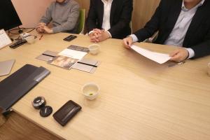 久々のさくら会計さん訪問_さくら会計事務所プロジェクトイメージ