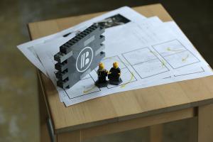 本日スタジオ撮影_BRAND PIECEプロジェクトイメージ