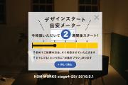 KOMのスケジュール予報 2018.5.1時点
