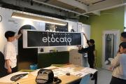 1/1スケールで看板デザイン確認!_etocatoプロジェクト