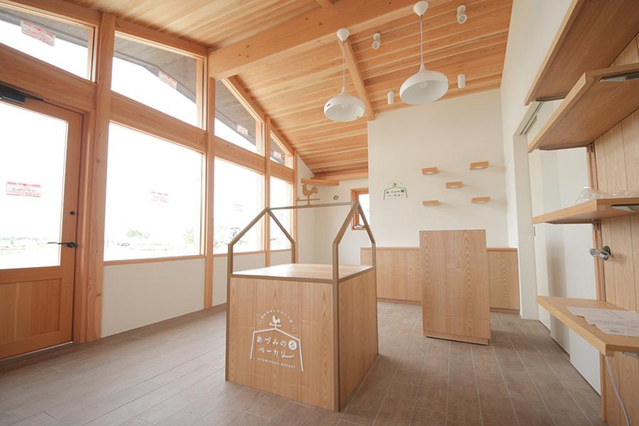 安曇野のパン屋デザイン
