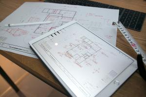 久々にガッツリ新築図面描いてる_愛知土地区画整理綜合事務所プロジェクトvol.02イメージ