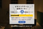 KOMのスケジュール予報 2018.7.23時点