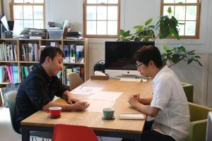 久々に最強エクステリアプランナー、テラさん登場_愛知土地区画整理綜合事務所プロジェクトvol.06イメージ