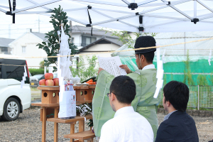地鎮祭でした!_愛知土地区画整理綜合事務所プロジェクトイメージ