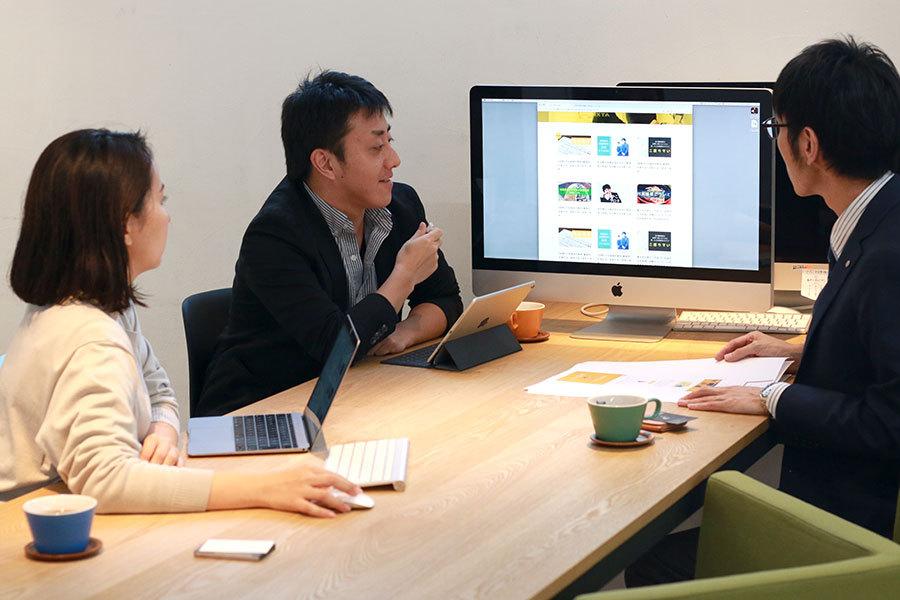 WEBデザインの方向性プレゼン_伴洋太郎税理士事務所プロジェクトvol.02メインイメージ