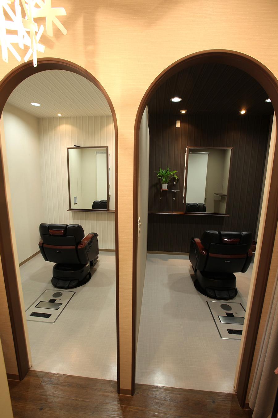 理容室のデザイン