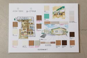 素材の決定と基礎工事の確認_愛知土地区画整理綜合事務所プロジェクトイメージ