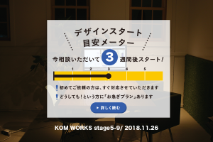 KOMのスケジュール予報 2018.11.26時点イメージ