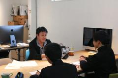 中学生のインタビューを受けました