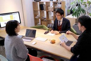 WEB公開前の打ち合わせでした!_伴洋太郎税理士事務所プロジェクトイメージ